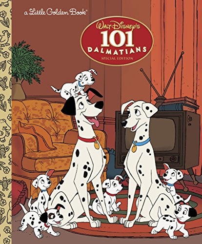 101 Dalmatians (Disney 101 Dalmatians) (Little Golden Books) por Justine Korman