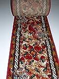 Läufer Teppich nach Maß Bettumrandung Rot lfm. 16,90 Euro Breite 100 x 340 cm