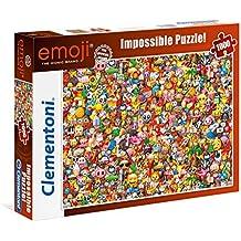 Clementoni 39388 - Puzzle 1000 Impossible Emoji