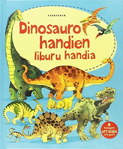 Dinosauro handien liburu handia (Liburu handiak) por Alex Frith