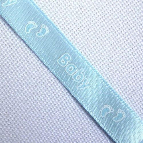 blue-satin-12mm-ribbon-with-printed-baby-feet-design-1-quantity-5-metres
