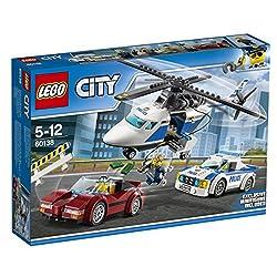 City - Rasante VerfolgungsjagdStürze dich mit der LEGO® City Polizei ins Action-Getümmel. Auch Chase McCain wird zu Hilfe gerufen, um den Ganoven daran zu hindern, dass er zusammen mit der Beute im gestohlenen Sportwagen verschwindet. Das Set enthält...