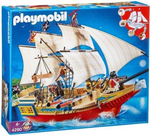 PLAYMOBIL 4290 - GRAN BARCO PIRATA DE CAMUFLAJE