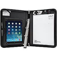 Wedo 5874901 Elegance A4 Organizer (mit Universalhalter für Tablet-PC von 24,6 cm (9,7 Zoll) bis 26,7 cm (10,5 Zoll…