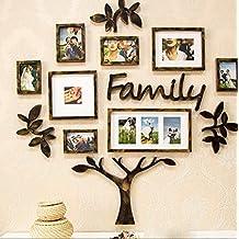 La nueva pared de la foto creativa sala de estar moderna simplicidad combinación de la pared