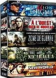 Collection Guerre : Mission Enigma / À l'Ouest rien de nouveau / Zone de guerre : Legacy / Nicaragua : Cocaïne War / Brand New World : Etat de guerre