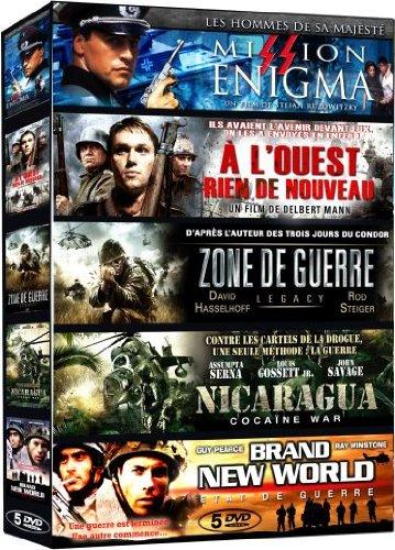 collection-guerre-mission-enigma-a-louest-rien-de-nouveau-zone-de-guerre-legacy-nicaragua-cocaine-wa