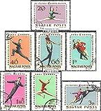 Ungarn 1898A-1904A (kompl.Ausg.) 1963 EM im Eiskunstlauf in Budapest (Briefmarken für Sammler)