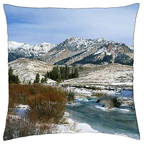 iRocket - Boulder Mountain, Colorado - Throw Pillow Cover (24
