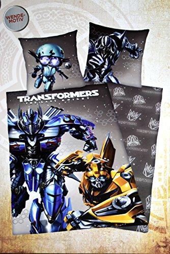 Transformers 5: The last knight Bettwäsche 80/80+135/200 cm Linon-Bettwäsche Wendemotiv 100{fe2aa57c47409915977c7dae5b87df52e8a2bbdb99bb760ed78e91a93dd9e767} Baumwolle