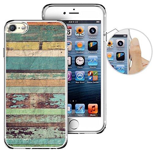 Für Ipod Touch 6. Fall, laaco Schöne Klar TPU Case Gummi Silikon Haut Cover Für Apple iTouch 6-Zeichen Design Pink Ocean, iTouch (23)