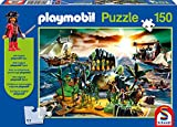 Schmidt Spiele Playmobil: Pirateninsel 150pieza(s) - Rompecabezas...