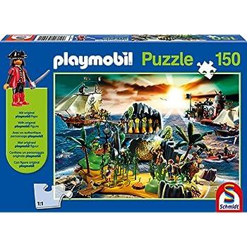 Schmidt - 56020 - Puzzle Classique - Ile Des Pirates - 150 Pièces