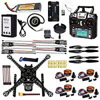 CS PRIORITY DIY GPS Drone Racer APM 2.8 Flight Controller S600 4-Axis Unassembled Quadcopter Kit with Landing Gear AT9S FS-I6 Transmitter by CS PRIORITY