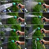 Spray Gun Car Washing Gardening Water Spray Gun, Green