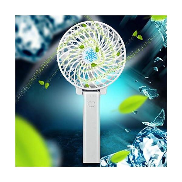 VENMO-verano-Ventilador-PorttilVENMO-Mini-porttil-Plegable-Ventilador-caliente-recargable-USB-Ventilador-Alto-Voltaje-3-velocidades-Ventilador-de-Escritorio-Durable-blanco