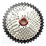 FOMTOR 10-Kassette, 42T Wide-MTB Mountainbike Kassette Sprocket mit b-screw