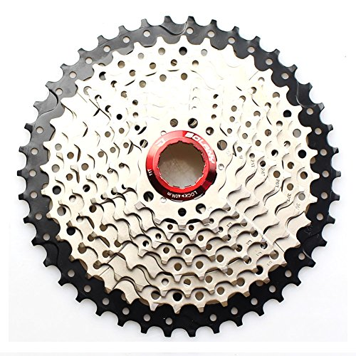 FOMTOR 10-fach Kassette 11-42T Kassette für Mountainbike Rennrad MTB SRAM Shimano Umwerfer