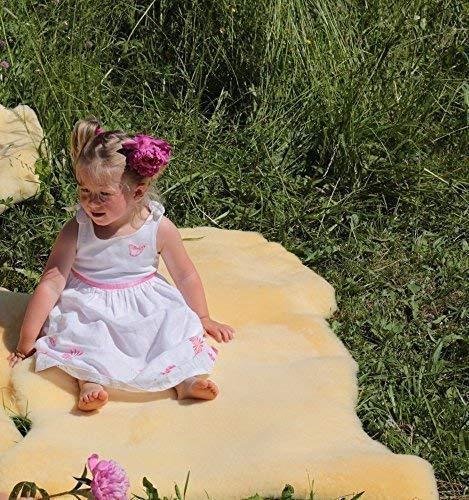 NATURFELL Babyfell Medizin geschoren Größe 110-120