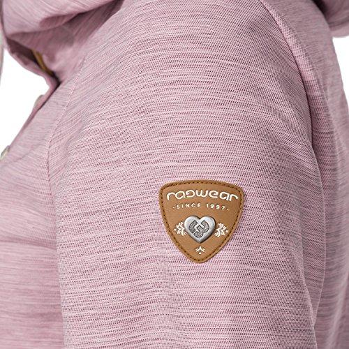 Ragwear Damen Übergangs Outdoorjacke Enrica (vegan hergestellt) Pink Gr. L - 6