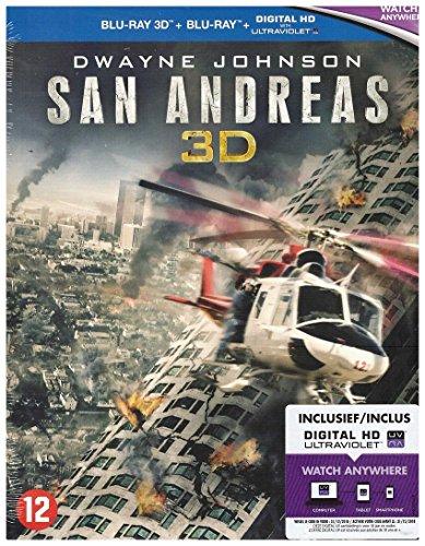 San Andreas 3D + 2D [Blu-ray]