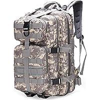 SPAHER Sac à Dos Tactique étanche 40L US Assault Pack Sac à Dos de Trekking étanche Militaire Armée Tactique Sac à Dos…