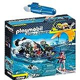 PLAYMOBIL® Top Agents 2er Set 70006 7350 Team S.H.A.R.K. Harpoon Craft + Unterwassermotor
