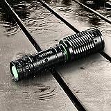 Ecooe Cree Taschenlampe Led Wassergeschützt T6 1000 Lumen mit einstellbares Kopfband