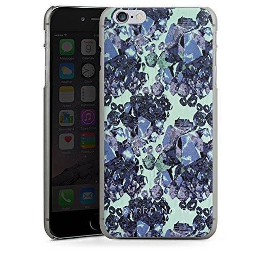 Apple iPhone X Silikon Hülle Case Schutzhülle steine edelsteine frühling Hard Case anthrazit-klar