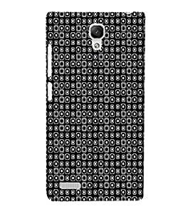 EPICCASE tiny spots Mobile Back Case Cover For Xiaomi Redmi Note (Designer Case)
