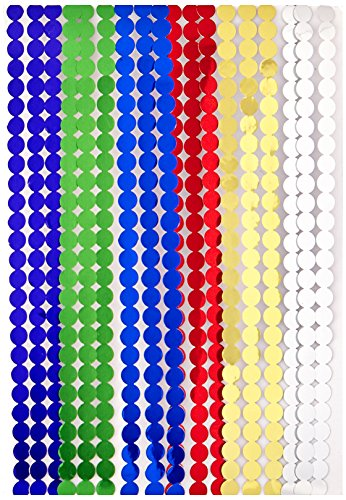 Adesivo striscia macchie 960/Pkg-Metallic colori assortiti