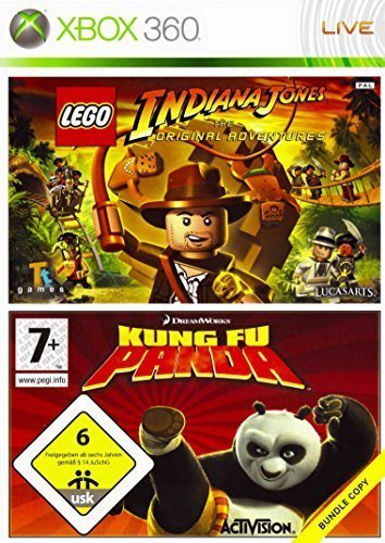 Lego Indiana Jones & Kung Fu Panda Double Pack Game XBOX 360 [UK Import] - Indiana Xbox Lego Jones