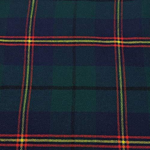 Sutherland Moderner Tartan-Stoff, 100% reine Wolle, hergestellt in Schottland, 284 g -