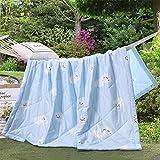 QY&LA Solid Color von Hand Gesteppte Decke, Einzelbett Abdeckung Wohnzimmer Decke Oder Frühjahr Summer Quilt, Bieten Sie Eine Kühlende nachtruhe-K 150x200cm(59x79inch)