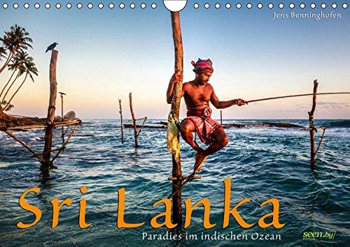 Sri Lanka - Paradies im indischen Ozean (Wandkalender 2019 DIN A4 quer): Die ganze Vielfalt Sri Lankas in 12 Fotografien für das ganze Jahr. (Monatskalender, 14 Seiten ) (CALVENDO Orte)