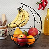 Pebbleyard Powder Coated Fruit Basket, Standard, 1-Piece, Multi