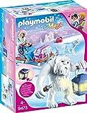 PLAYMOBIL 9473 Spielzeug-Schneetroll mit Schlitten, Unisex-Kinder