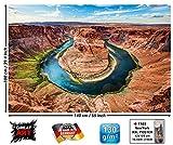 GREAT ART XXL Poster - Horseshoe Bend - Wandbild Dekoration
