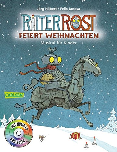 Preisvergleich Produktbild Ritter Rost: Ritter Rost feiert Weihnachten: Buch mit CD