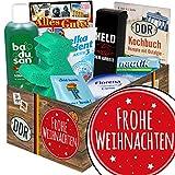 Frohe Weihnachten | Pflegeset | DDR Paket | Weihnachtsgeschenkideen für Freundin