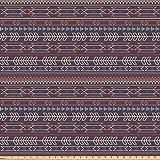 ABAKUHAUS Ethnisch Stoff als Meterware, Kunstvolle Pfeile
