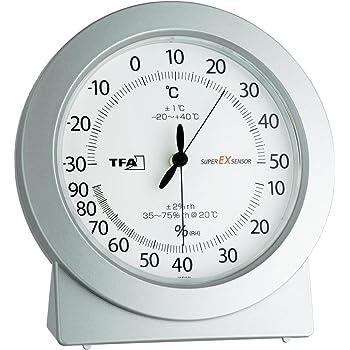 TFA-Dostmann 45.2020 Thermomètre hygromètre de précision 120 x 115 x 40 mm