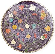 DEVKIKALA MANDIR CORPORATION Handicraft Metal Brass Wall Plate for Hanging Home décor,Best Decorative showpiec
