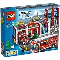LEGO City 7208 - Große Feuerwehr-Station by Lego