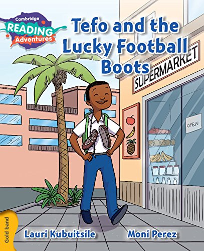 Tefo and the lucky football boots