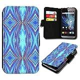 Book Style ZTE Blade V6 Premium PU-Leder Tasche Flip Brieftasche Handy Hülle mit Kartenfächer für ZTE Blade V6 - Design Flip SV122