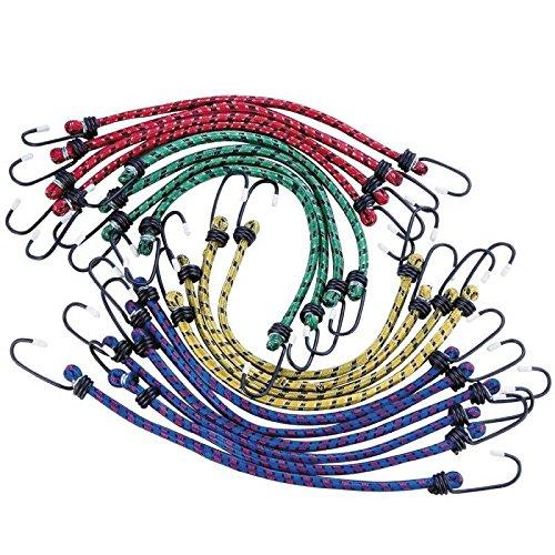 Tendeurs avec crochets 18 pieces