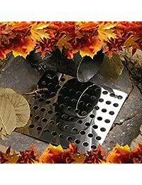Great Ideas Lot de 2plaques d'évacuation en acier inoxydable antirouille Gants de jardinage gratuits inclus 15cm²