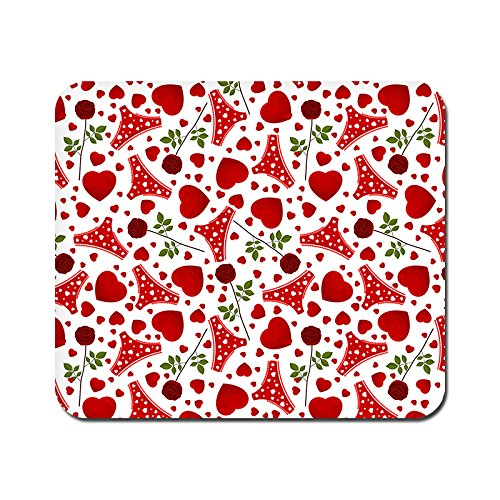 kmltail Panty Love Design Speed Mouse Mat for HP Dell Lenova iball Dragonwar Red Dragon Logitech ibuypower Zebronics Printed Photo Scene Natural Rubber Gaming Mouse Pad Non Slip base-Kmltail  available at amazon for Rs.159