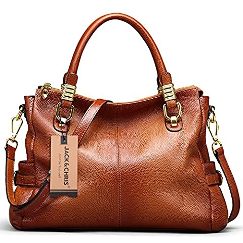 Jack&Chris Ladies Handbags and Purses Tote Bag for Women Leather